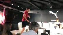 Marseille : Florent Manaudou, sous les yeux d'Usain Bolt, devient le nouvel ambassadeur Puma