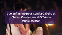Shawn Mendes et Camila Cabello plus proches que jamais sur la scène des MTV VMA