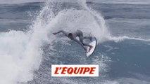 deux jours avec Maxime Huscenot, lors du Pro Anglet - Adrénaline - Surf