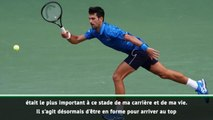"US Open - Djokovic : ""Gagner des Grands Chelems reste le plus important"""