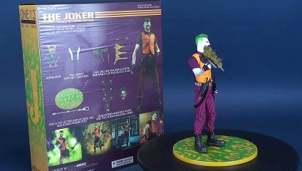 Mezco Toyz One 12 Collective Joker Clown Prince of Crime Version Figure Review