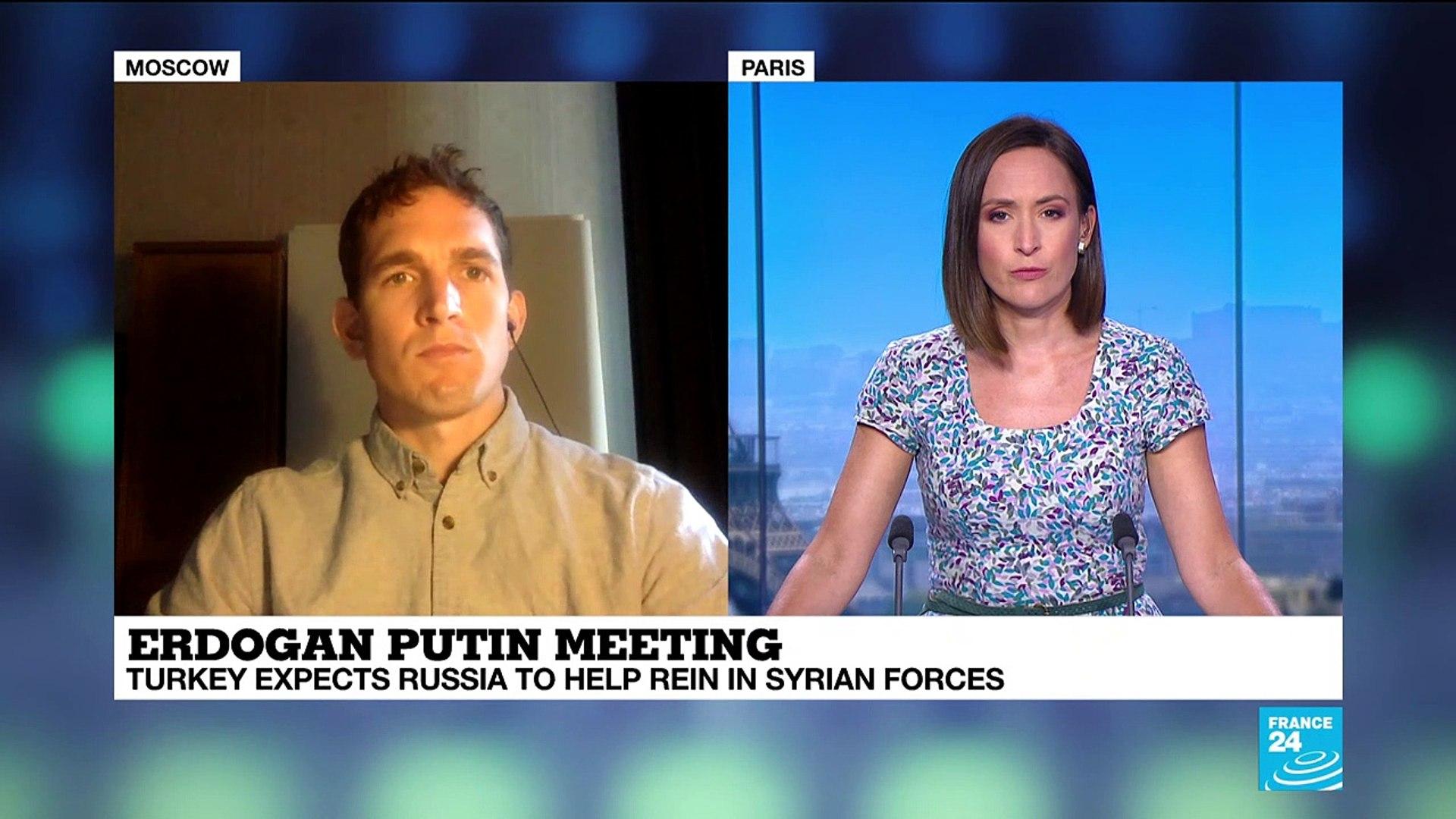 Russia: Turkish president Recep Tayyip Erdogan meets Vladimir Putin amid tensions in Syria's Id
