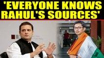 Ladakh MP Namgyal dismisses Rahul Gandhi's 'sources of information'