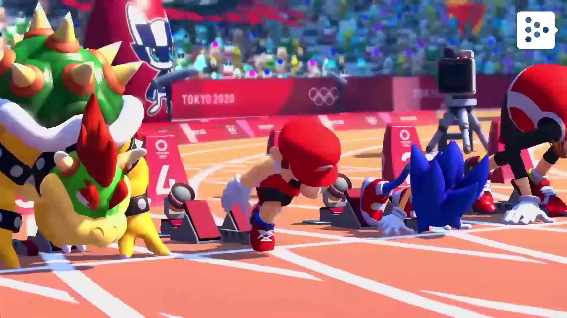 2D events are back in the Sonic and Mario at the Tokyo 2020 Olympics game