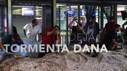 Las imágenes más impactantes que deja la tormenta DANA