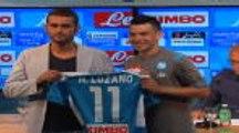 Transferts - Lozano officiellement présenté par Naples