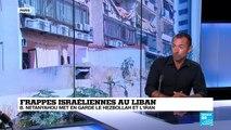 Frappes israéliennes au Liban : vers une nouvelle escalade militaire ?