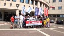 Antalya memurlardan iş bırakma eylemi