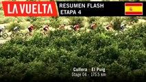 Resumen Flash - Etapa 4 | La Vuelta 19