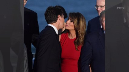A Body Language Expert Breaks Down *That* Photo of Melania Trump and Justin Trudeau