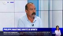 """Philippe Martinez (CGT) sur les retraites: """"sur le fond, Emmanuel Macron n'a rien changé"""""""
