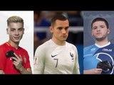 France - Danemark à la coupe du monde 2018: Deux pro-gamers jouent le match sur FIFA 18