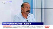 """Philippe Martinez (CGT): """"Mettons au boulot tous ceux qui sont au chômage entre 50 et 60 ans"""""""
