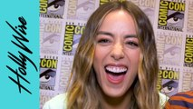 "Chloe Bennet ""Agents of S.H.I.E.L.D."" Star Gets COZY With Co-Star Jeff Ward!!"