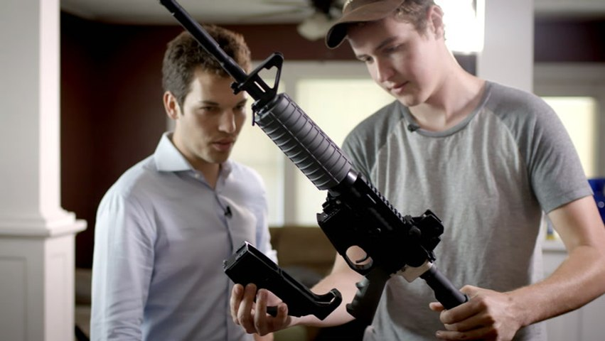 3D-printed Guns; The Life of a Former Incel