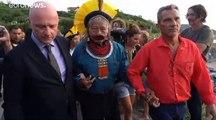 زعيم السكان الأصليين في البرازيل يشكر ماكرون على دعمه لمكافحة حرائق الأمازون