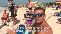 """En Toscane, une plage aux allures de """"paradis artificiel"""""""
