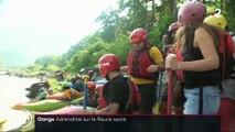 Inde : le Gange, nouveau paradis des sports aquatiques extrêmes