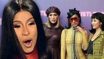 Cardi B Reacts To Jennifer Lopez Punching Constance Wu On Set