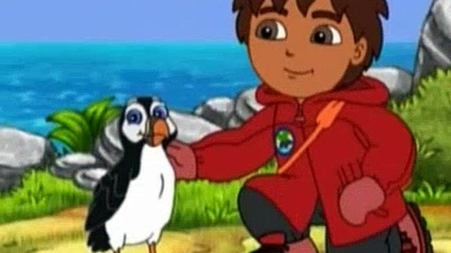 Go Diego Go S04E04 Puffin Fish Adventure