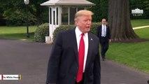 Trump Tellls Himself: 'Great Job Mr. President'