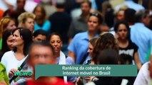 Ranking da cobertura de internet móvel no Brasil