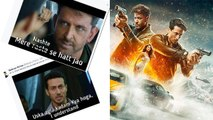 War Trailer: Hrithik Roshan & Tiger Shroff's memes goes viral; Check out | FilmiBeat