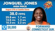 WNBA FanDuel Picks For August 27 | WNBA Today, EP. 90