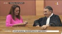 Ouverture du procès Barbion / Boiron