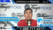 Cardinals Broncos NFL Pick 8/29/2019