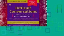 Difficult Conversations: How to Discuss What Matters Most  Best Sellers Rank : #3