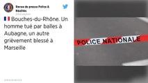 Bouches-du-Rhône. Un homme tué par balles à Aubagne.