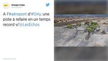 Orly : La reconstruction de la piste 3 représente un gigantesque chantier de 120 millions d'euros