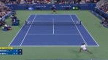 US Open - Une contre-amortie et un pas de danse : c'est signé Nick Kyrgios !
