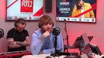 James Arthur en live et en interview dans #LeDriveRTL2 (27/08/19)