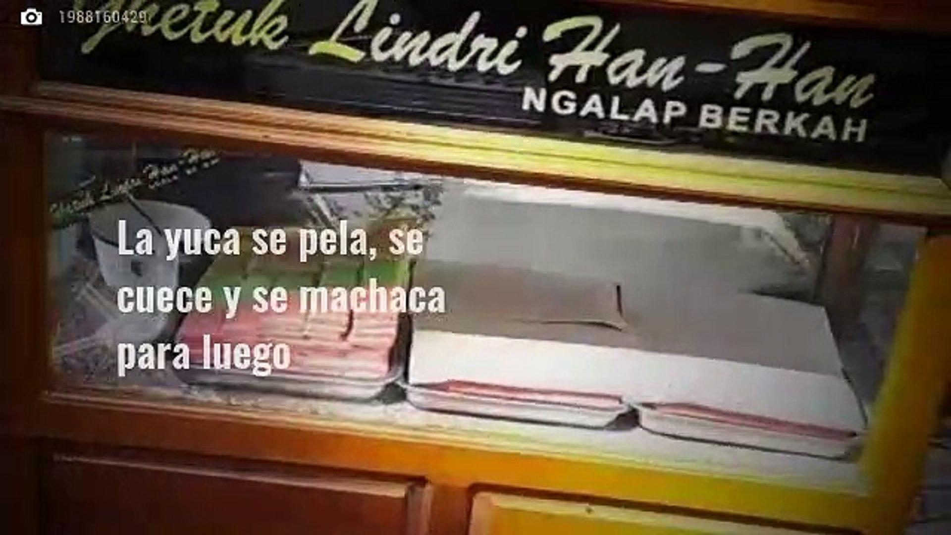 Gastronomía de Indonesia: Getuk y Gado-gado