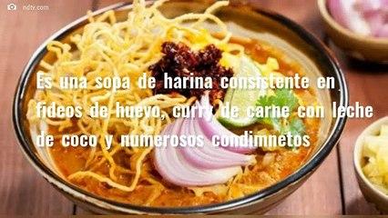 Gastronomía de Birmania: Khow Suey y Lahpet