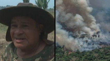 Un fermier d'Amazonie nous explique pourquoi il brûle la forêt
