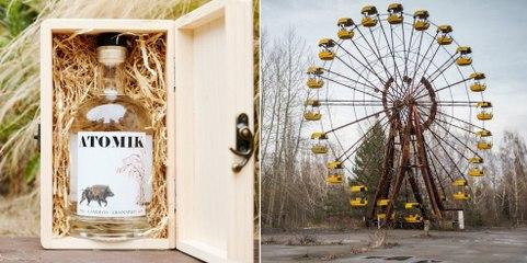 ATOMIK, une vodka créée à partir de céréales radioactives de Tchernobyl