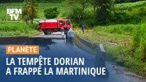 La tempête Dorian a frappé la Martinique et se dirige vers Porto Rico