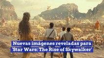Nuevas imágenes reveladas para 'Star Wars The Rise of Skywalker'