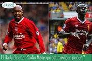 Entre El Hadj Diouf et Sadio Mané, qui est le meilleur? Pape Diouf répond