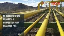El gas representa una ventaja competitiva para cualquier país: CCE