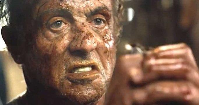 RAMBO LAST BLOOD clip : Rambo hurts a Sicario really bad - behind the scenes