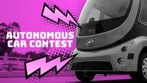 Cars show off tech at autonomous driving contest
