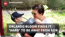 Orlando Bloom Gets Homesick
