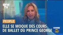 Une présentatrice s'excuse après s'être moquée des cours de ballet du prince George