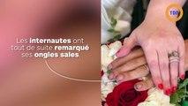 Les ongles sales du marié lui valent d'être traité de « dégoûtant» sur les réseaux sociaux !