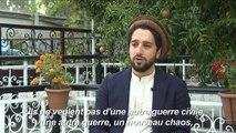 Afghanistan: le fils du commandant Massoud enfile le costume de son père