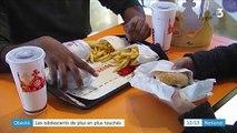 Forte hausse de l'obésité chez les adolescents